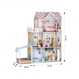 البيت التمثيلي بحديقة جانبية – السعر شامل التوصيل والتركيب